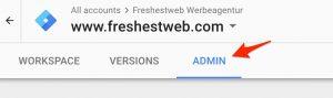 GTM install code finden - freshestweb