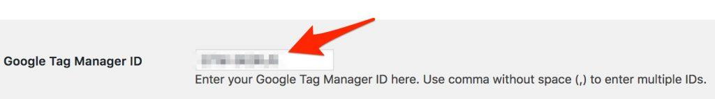 google tag manager id eingeben in duracell tomis plugin wordpress - freshestweb