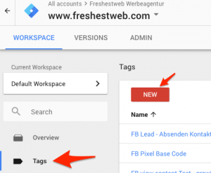 scroll depth tag new - google tag manager