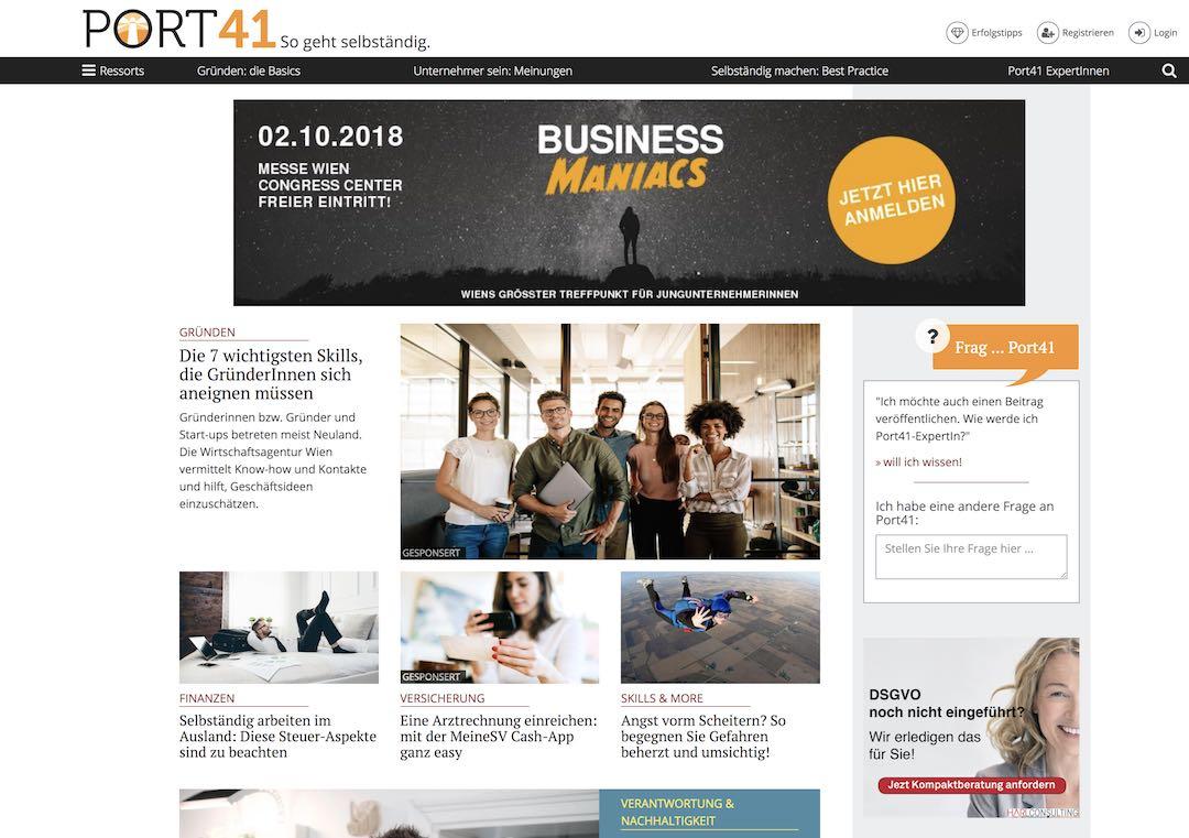 port41 - kunde freshestweb - digital strategie beratung