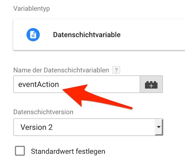 eventAction GTM drift chat variable