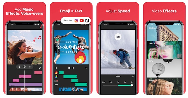 InShot video editor - instagram stories insta story app vorlagen video
