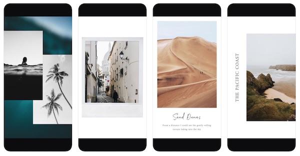 unfold - instagram stories insta story top apps vorlagen video photo gestaltung
