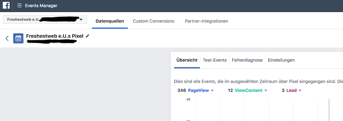 facebook pixel event tracking - conversion tracking setup check