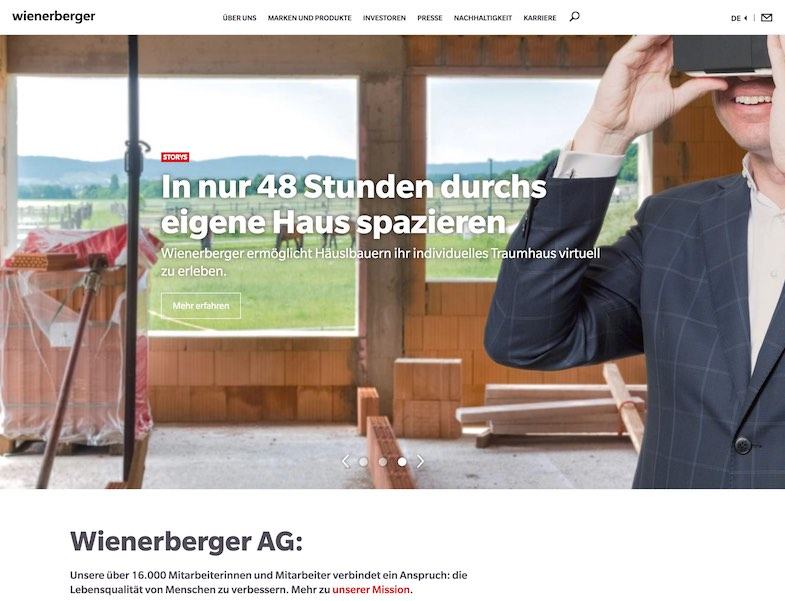 Wienerberger AG – Conversion Tracking Setup