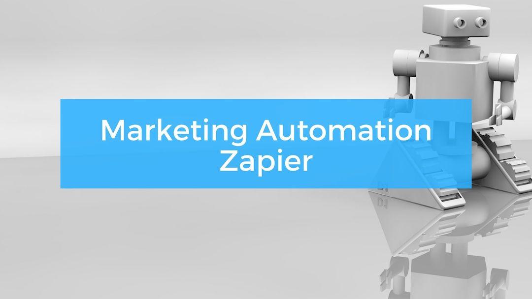 Marketing Automation mit Zapier
